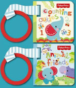 Fisher Price Buggy Book Box : First Animals, Counting Cuties - Carly Blake