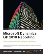Microsoft Dynamics GP 2010 Reporting - Liley Christopher