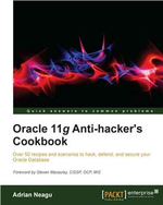 Oracle 11g Anti-hacker's Cookbook - Neagu Adrian