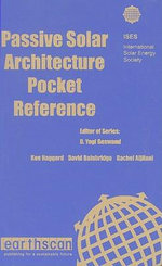 Passive Solar Architecture Pocket Reference - International Solar Energy Society (I.S.E.S.)