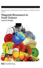 Magnetic Resonance in Food Science : From Food to Thought - Maria Gu Jonsdottir