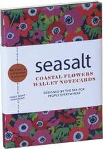 Seasalt: Coastal Flowers Wallet Notecards : 10 Cards & Envelopes (5 Each of 2 Designs) in a Presentation Box - RPS