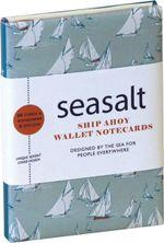 Seasalt: Ship Ahoy! Wallet Notecards : 10 Cards & Envelopes (5 Each of 2 Designs) in a Presentation Box - RPS