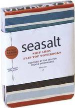 Seasalt : Ship Ahoy! Mini Flip-top notebooks - RPS