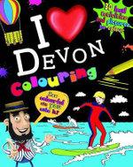 I Love Devon Colouring