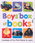 Boys Box of Books : Hundreds Of Fun First Words To Learn