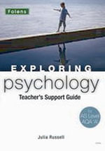Exploring Psychology : AS Teacher's Guide (Book & CD-ROM) AQA A - Matt Jarvis