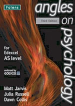 Angles on Psychology : AS Teacher's Support Guide (book & CD-ROM) Edexcel - Matt Jarvis