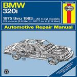 BMW 320i Manual : 1975-1983: '75-'83 - J. H. Haynes