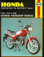 Honda CB/CD125T and CM125C Twins 1977-88 Owner's Workshop Manual - Jeremy Churchill