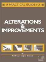 A Practical Guide to Alterations and Improvements - Ron Cooper