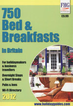 750 Bed & Breakfasts in Britain 2012 : For Holidaymakers & Business Travellers, Overnight Stops & Short Breaks, Pubs & Inns, and Wi-Fi Directory - Moira Bryen