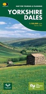 Yorkshire Dales : Map for Touring and Planning