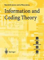 Information and Coding Theory - Gareth A. Jones