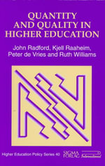 Quantity and Quality in Higher Education - John Radford
