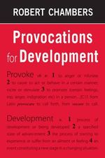 Provocations for Development - Robert Chambers