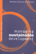 Managing Sustainable Development - Michael Carley