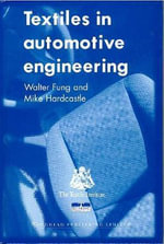 Textiles in Automotive Engineering - Walter Fung