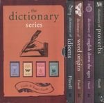 The Dictionary Series : 4 x Hardcover Books in a Boxed Set : <i>Idioms</i>, <i>Proverbs</i>, <i>Word Origins</i>, & <i>English Down the Ages</i> - Linda Flavell