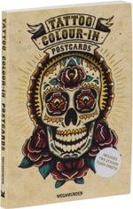 Tattoo Colour-In Postcards - Megamunden