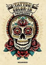Tattoo Color-In Postcards - Megamunden