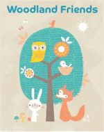 Woodland Friends : Pull-Out Prints - Bowie Style
