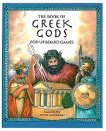 The Book of Greek Gods : Pop-Up Board Games - Kevin Maddison