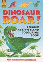 Dinosaur Roar Activity Sticker Book - Paul Stickland