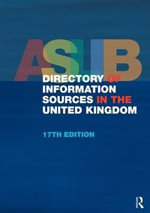 ASLIB Directory of Information Sources in the United Kingdom - No Contributor