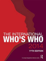 The International Who's Who 2014