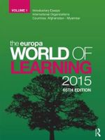 The Europa World of Learning 2015