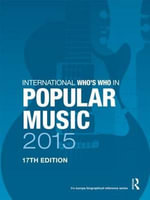 International Who's Who in Popular Music 2015