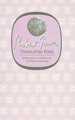 Translating Rome : ELEANOR BRASCH - Robert Graves