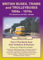 British Buses, Trams and Trolleybuses 1950s-1970s : South, West and North Yorkshire v. 5 - Henry Conn