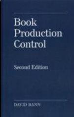 Book Production Control - David Bann