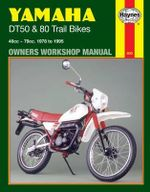 Yamaha DT50 and 80 Trail Bikes Owner's Workshop Manual : Folded Sheet Map - Chris Rogers