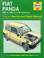 Fiat Panda Service and Repair Manual - Peter G. Strasman