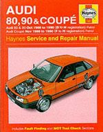 Audi 80, 90 and Coupe 1986-90 Service and Repair Manual - A. K. Legg