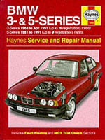 BMW 3 and 5 Series Service and Repair Manual - A. K. Legg