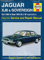 Jaguar XJ6 1986-94 Service and Repair Manual : 1980-1998 - Jeff Kibler