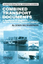 Combined Transport Documents - John W. Richardson