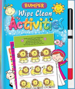 Bumper Wipe Clean Activities - Juliet David
