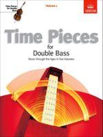 Time Pieces for Double Bass : v. 1 - Rodney Slatford