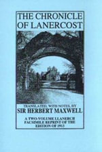 The Chronicle of Lanercost (1272-1346) - Herbert Maxwell