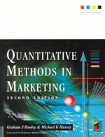 Quantitative Methods in Marketing - Graham J. Hooley