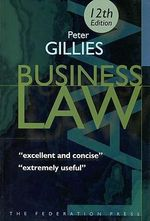 Business Law - Peter Gillies