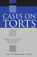 Cases on Torts - Jane Swanton