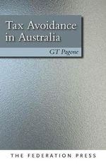 Tax Avoidance in Australia - G. T. Pagone