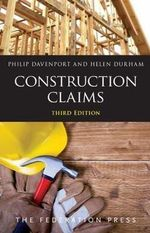 Construction Claims - Philip Davenport