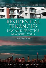 Residential Tenancies Law and Practice : New South Wales - Allan Anforth